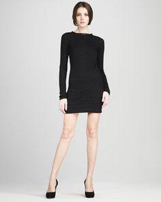 Kivel Ladder-Lace Dress by Diane von Furstenberg at Neiman Marcus.