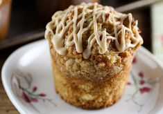 Pineapple Coconut Caramel Muffins For the coconut caramel sauce:  1 c sugar  2 T corn syrup  2 T water  ½ c coconut milk  2 T cream  1 T butter   topping:  ⅓ c flour  ⅓ c packed brown sugar  ⅓  shredded coconut  3 T butter  muffin:  2 c flour  1 c sugar  ¾ t baking soda  ¾ t baking powder  ½ t salt  ¾ c coconut milk  ⅓ c vegetable oil  2 eggs  1 t vanilla  1 c crushed pineapple,  ¾ c coconut  1 T lime zest   glaze:  ⅓ c powdered sugar  ⅓ c Coconut Caramel Sauc