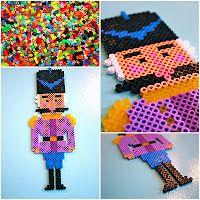 hama beads pearler..cute blog w xmas decorations