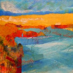 Life, painting by artist Bente Hansen