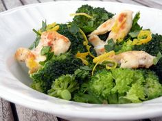Light Lemon Chicken with Broccoli   Once A Month Meals   Freezer Cooking   OAMC
