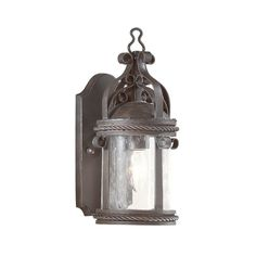Outdoor Wall Light with Clear Glass in Old Bronze Finish | BCD9120OBZ | Destination Lighting
