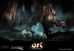 The gorgeous art behind hit Xbox One game Ori and the Blind Forest | The Verge