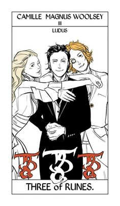 I love this picture so much #camille #magnus #woolsey (Cassandra Jean drew this, not me!!)