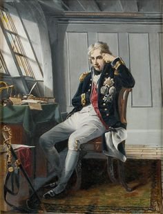 Viscount Horatio Nelson, before the Battle of Trafalgar, 21 October 1805 - National Maritime Museum