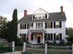 Captain Jefferds Inn Bed & Breakfast -   Kennebunkport Maine