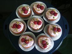 Himbeere mascarpone cupcakes