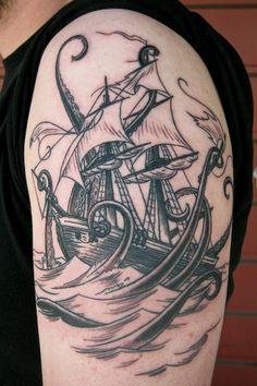 Yep, need a ship tattoo.