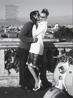 "The Terrier and Lobster: ""É Dolce la Vita"" by Giampaolo Sgura for Italian Glamour"