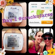 @jess12wbt: Day 1 #crackofarse with @nvestnes :)