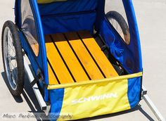 How to convert a child bike trailer into a cargo trailer: an illustrated guide