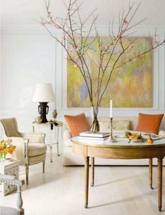 Veranda Magazine Living Rooms | Gorgeous Living Room! Veranda Magazine April 2011 #bleachedwoods