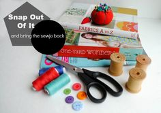 Boy, Oh Boy, Oh Boy Crafts: How To Snap Out of a Sewing Slump