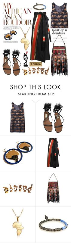 """""""Spirit of a Adventure"""" by hotsarrisstyle ❤ liked on Polyvore featuring Marc by Marc Jacobs, Valentino, Vivienne Westwood and NOVICA"""