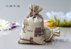 Find More Packaging Bags Information about 18*25cm 100pcs Cotton Linen Drawstring gift bags for jewelry/wedding/christmas/birthday  with handles Packaging Linen pouch Bags,High Quality gift bag small,China bag gift Suppliers, Cheap gift bag accessories from Playful beauty department store on Aliexpress.com