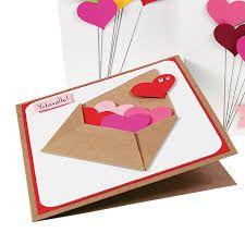 Kuvahaun tulos haulle ystävänpäiväkortti askartelua