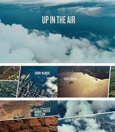 Up In The Air title sequence - beautiful