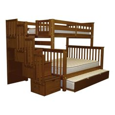 Looking for Bedz King Stairway Bunk Beds Twin Full 4 Drawers Steps, Espresso ? Check out our picks for the Bedz King Stairway Bunk Beds Twin Full 4 Drawers Steps, Espresso from the popular stores - all in one. Bunk Bed King, Safe Bunk Beds, Full Bunk Beds, Kids Bunk Beds, Full Bed, Loft Beds, Under Bed Drawers, Bunk Beds With Drawers, Bunk Beds With Storage