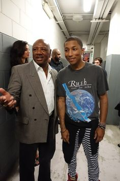Pharrell's G I R L Milan Show with the one and only Marvelous Marvin Hagler