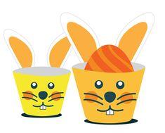 Make a Funny Bunny Easter Egg Holder · Kix Cereal