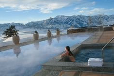 Now THAT is a VIEW!!!  The Amangani  in Jackson Hole, Wyoming.  #1 in the 10 Best Hotels in the USA 2013 | U.S. News Travel.