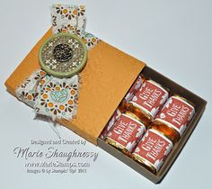 Autumn Spice Cake Nugget Box