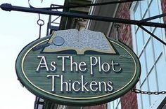As the Plot Thickens Mystery Bookshop offers an excellent selection of mystery novels along with cozy Victorian decor.