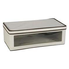 Household Essentials Vision Storage Box - Jumbo #HomeDecorNearMe Home Decor Near Me, Home Decor Sale, Home Decor Signs, Closet Shoe Storage, Ikea Storage, Clothes Storage, New Home Essentials, Stackable Bins, Discount Home Decor