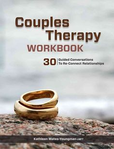 Couples Therapy Workbook is a series of guided questions to promote meaningful couple conversations and build ongoing, connected communication.  The core of this unique guide is 30 guided conversations of the most critical relationship struggles.  For ...
