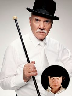 MALCOLM MCDOWELL  | Alex DeLarge ( A Clockwork Orange , 1971)