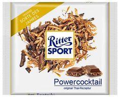 RITTER SPORT Fake Schokolade Powercocktail
