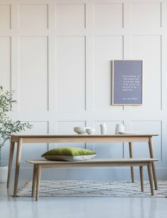 Bergen Extending Dining Table at Rose & Grey. Buy online now from Rose & Grey, eclectic home accessories and stylish furniture for vintage and modern living Solid Oak Dining Table, Dining Table With Bench, Extendable Dining Table, A Table, Dining Chairs, Dining Room, Kitchen Chairs, Scandinavian Dining Table