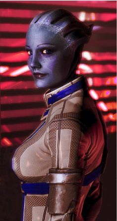 Laira in the Citadel DLC - Liara8 by wargaron.deviantart.com on @deviantART