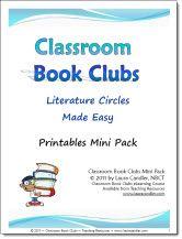 Classroom Book Clubs Printables