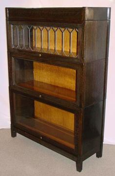 Free Woodworking Plans Barrister Bookcase - WoodWorking Projects ...