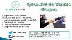 Vacantes Lomas Travel Cancún