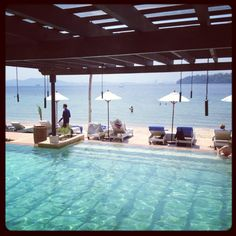 Pool at Gaya Island