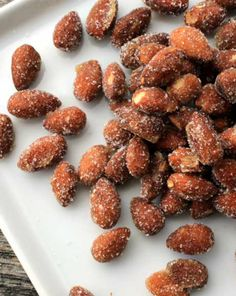 You may get in trouble because your friends will not be able to stop eating your honey-roasted almonds, thus blaming you for any diet fail. Consider yourself warned! - Everyday Dishes & DIY