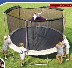 Trampolines Recalled by Sportspower Limited Due to Fall Hazard; Sold Exclusively at Walmart