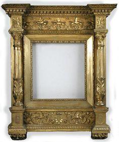 19th century Florentine Tabernacle frame