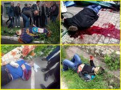 PHOTOS: Claimed victims of fighting in Mariupol, Ukraine. (Warning: Graphic.)