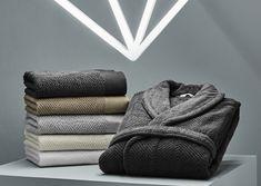 DIAMONDS BATH LINENS - Engulf your senses in softly textured cotton bath sheet, guest towel, hand towel, washcloth, bathmat and coordinating bathrobe. Guest Towels, Hand Towels, Bath Sheets, Bath Linens, Tilt, Diamonds, Slippers, Deco, Bathroom