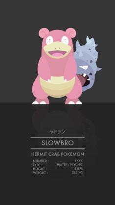 Slowbro by WEAPONIX on DeviantArt