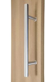 Hour Glass Ladder Pull Handle Back To Back Brushed Satin Stainless Steel Finish Glass Shower Doors Steel Entry Doors Door Pull Handles