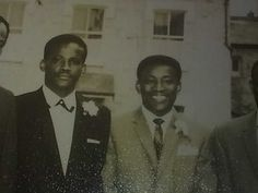Uncle Denzil (24) and my dad, Raphael (22).