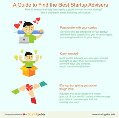 How to ensure that they are clearly a good adviser for your startup? See if they have these following behaviours.