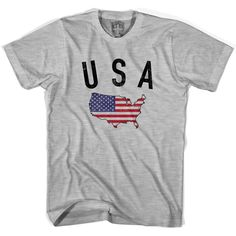 USA Flag & Country T-shirt