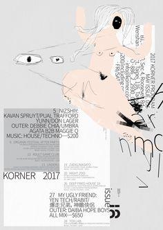korner program issue 055 on Behance