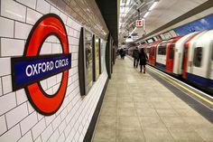 Immagine della stazione della metropolitana di Oxford Circus