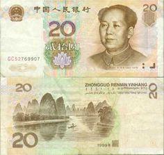 China, 20 yuanes